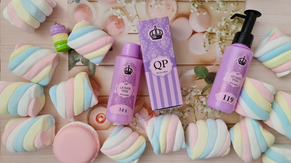 № 832 Queen PFM 100 мл Yogurt (Клубничный йогурт)